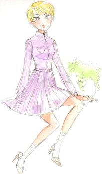 modcloth dress design entry 1: PLEASE VOTE FOR ME! by chupachup