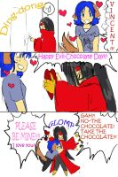 Happy Evil Chocolate Day by Hane-to-Yume