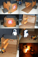 wall-e's truck by zookydragon