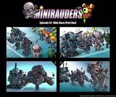 MINURAUDERS by GoddessMechanic