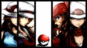 Female Pokemon Trainers I-IV by PUTLEADINURHEAD