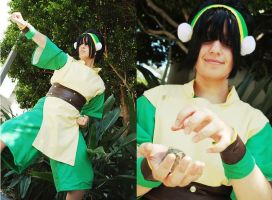Toph Bei Fong - Earthbender by Spwinkles