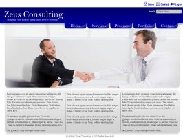 Corporate Simple Layout by datamouse