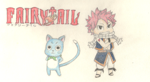 Fairy Tail Doodle by manny1212