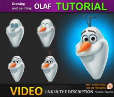 How to draw Olaf by JesusAConde