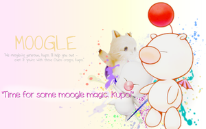 [REQUEST] Moogle - wallpaper by Ekumimi