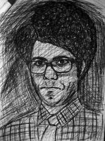 Richard Ayoade by SpiderRainboots