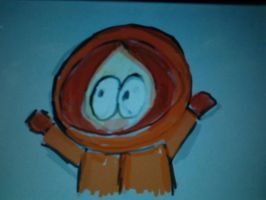 Kenny doodle. by DaRainbowGurl
