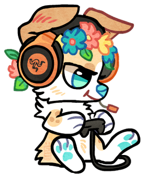 Gaming Ponah by griffsnuff