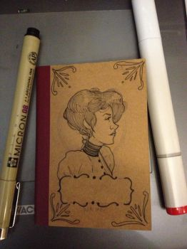 WIP: Pretty Little Notebook by SharpAce