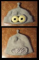 Crocheted Bender Hat by APickledPriest