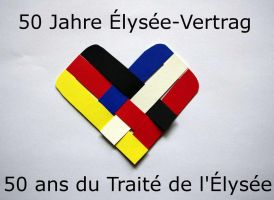 50th Anniversary of the Elysee Treaty by SarienSpiderDroid