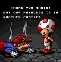 The frustration of Mario by guert