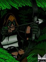 Zartan hunting by wondermanrules