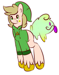 Pony Adopt (CLOSED) Link Slimer! by TRlCKST3R