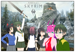SKYRIM IS NEAR by Dragoshi1
