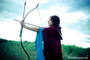 Guinevere - The Bow by haricovert-cosplay