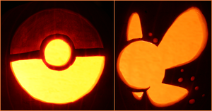 A Pokeball and Navi Minikins by johwee