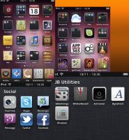 Ultimate Ubuntu theme for WinterBoard by Gabry207