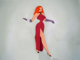 Jessica Rabbit Original Cel by Dustiniz117