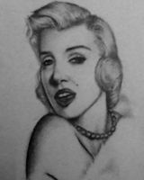 Marilyn Monroe by Nobody-Parks-Here