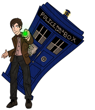 He can haz TARDIS by packhunter247
