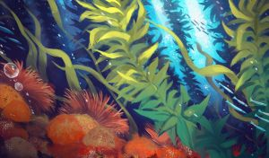 kelp forest by notya-chan