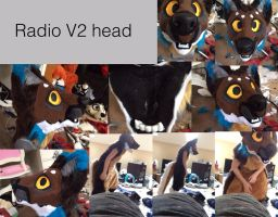 Radio V2 head by Yamishizen