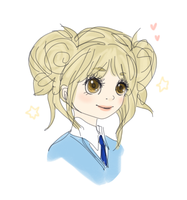 uniform and pigtails by eluzaberry