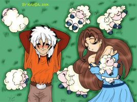 Sleeping with sheeps by Kaysa