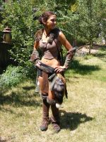 Viking Costume_ front by Val-ky-rie