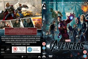 Avengers DVD Cover by MrPacinoHead