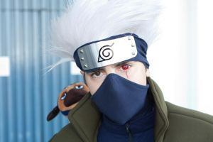 Kakashi Sharingan by apetc