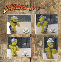 My Little Pony Daring Do Blind Bag Custom by kaizerin