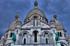 sacre coeure, paris by RoOoTeMm