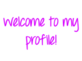 Welcome To My Profile - Purple - Mossy's Graphics by MossyMyBaby