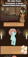 Pony Transformation Meme by Whimsii