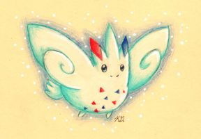 Day 3: Togekiss by KGScribbles