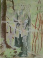 Legolas from LOTR. by inarion7