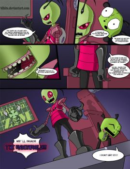 Invader Zim: Conqueror of Nightmare Page 2 by Blhite