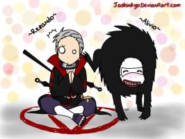 Hidan praying  XD by Jashinnkyo