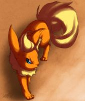Flareon is GRRR faec by Tartii