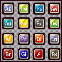 Icon Pack 001 Adobe Icons by llexandro