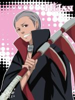 false anime style - Hidan by LotusMartus