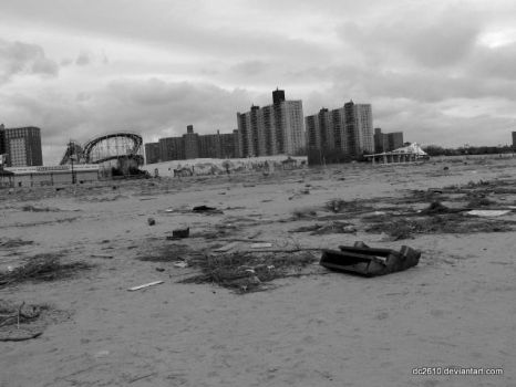 Superstorm Sandy in Coney Island 6 by dc2610