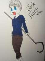 Jack Frost Chibi by ChristianGirl4Life