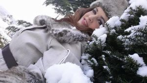 jessica Sherawat - snow time by hiddentalent1