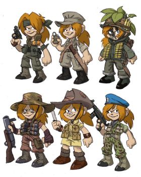 Kid concept art by AngusBurgers