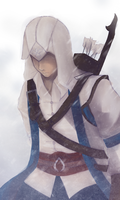 Connor Kenway - Fanart by kommoyThyhiru