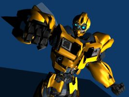 BUMBLEBEE PRIME 002 by g2mdluffy